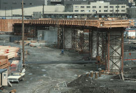 Cambie Bridge Construction [14 of 76]