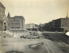 [View of Phoenix Square, Fredericton]