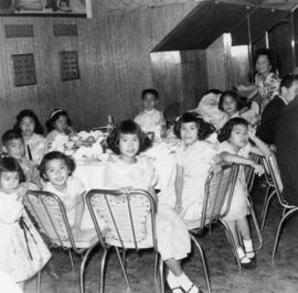 Children at the wedding of Harry Louie and Ella Wong