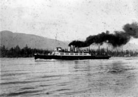 [Steamship in the Narrows]