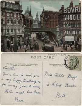 Ludgate Circus, London.
