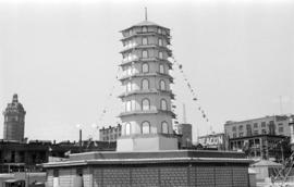 Chinese Pagoda in Chinatown for Golden Jubilee