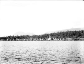 [View of Sechelt from the water]