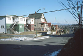 [View of East] 14th [Avenue at] Pr[ince] Albert [Street]