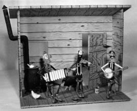 Bluegrass band diorama, entry in P.N.E. Hobby Show