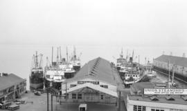 [Boats at] Union Steamship Wharf