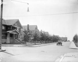 [View of West 12th Avenue near Spruce Street]