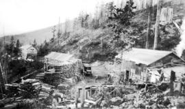 [Board of Trade trip - View of sawmill]