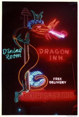 Dragon Inn Dining Room neon sign