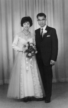 Wedding portrait, 1964