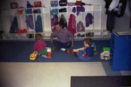 [Don Hann at daycare centre]