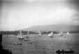 [Dominion Day yacht regatta in Coal Harbour]