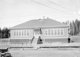 North Arm School. Corner Fraser Avenue and River Road [Marine Drive]