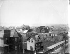 [View of Powell Street looking west from Dunlevy Avenue]