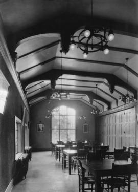 Dining hall, Anglican College, Vancouver, B.C.