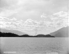 On the Kootenay Lake, B.C.