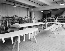 Boeing Aircraft Co. of Canada, flying boat wing construction, final stages