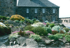 Gardens - United Kingdom : Edinburgh Castle, rock garden