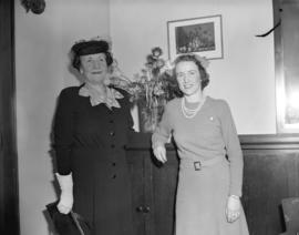 H.R.H. Princess Alice['s visit to] Point Grey Junior High [for] Junior Red Cross [promotion]