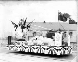 Vancouver Exhibition Association Victoria Fair float