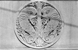 [Federal building detail]
