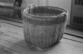 Basket from fish cannery