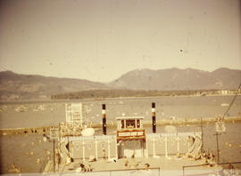 Kitsilano Beach pool, showboat stage