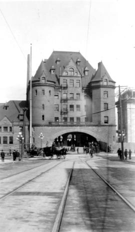 C.P.R. Depot at Granville and Hastings