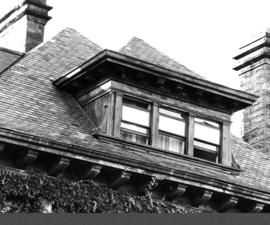 Angus Apartments (Gabriola), 1531 Davie Street, dormer window