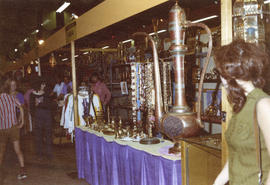 Display of products from India at 1972 P.N.E. International Bazaar