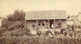 [The Simson cottage at Hastings Sawmill]