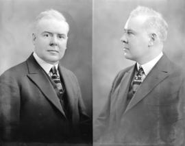 [Two head and shoulder portraits of Dr. R.W. Alward]