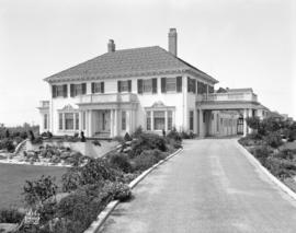 [Photograph of Saba residence, 6511 Granville St., Vancouver B.C.]