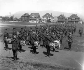 High school Army Cadets on Vancouver High School grounds (Cambie and 12th Avenue)