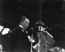 His Worship G.G. McGeer, K.C., M.P., Mayor of Vancouver, and General Chairman, Golden Jubilee Com...