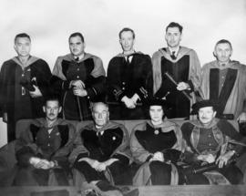 Honorary degree recipients at University of British Columbia
