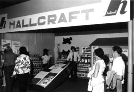 Hallcraft display of fiberglass products