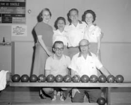 [Group portrait of members of the West Vancouver Bowlers]
