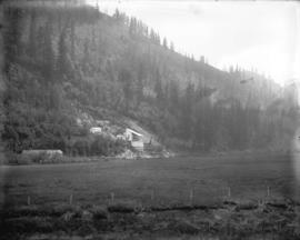 [Rock quarry near Vedder Mountain Station in the Fraser Valley]