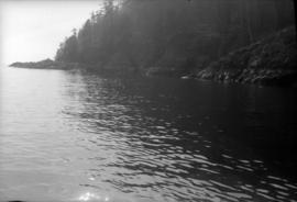 [Bowen Island scene from boat trip March 7, 1953]