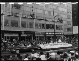 B.C. Heart Foundation float in 1959 P.N.E. Opening Day Parade