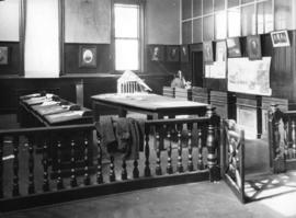Council room at City Hall [423 Westminster Avenue (later Main Street)]