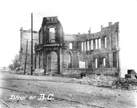 Bank of B.C. [after fire of September 10, 1898]