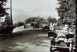Auto rally at Stanley Park