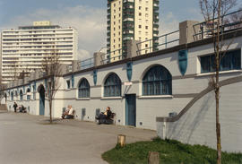 English Bay Bathhouse after repainting