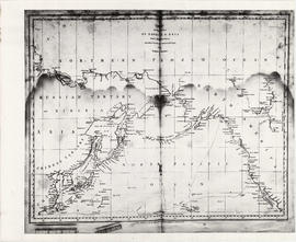 Chart of the coasts of America and Asia
