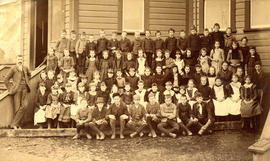 Mount Pleasant School class photo
