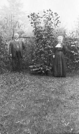 Mr. and Mrs. James McGregor, pioneers of Collingwood East