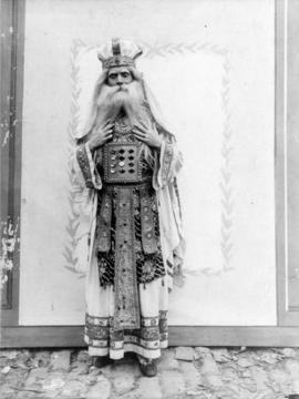 "[Alfred T. Layne, actor, costumed as character from ""The Light Eternal"" or ""Faust&..."