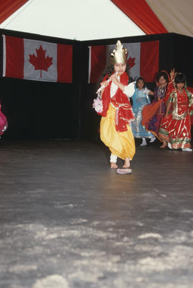 Dance performance during the Centennial Commission's Canada Day celebrations